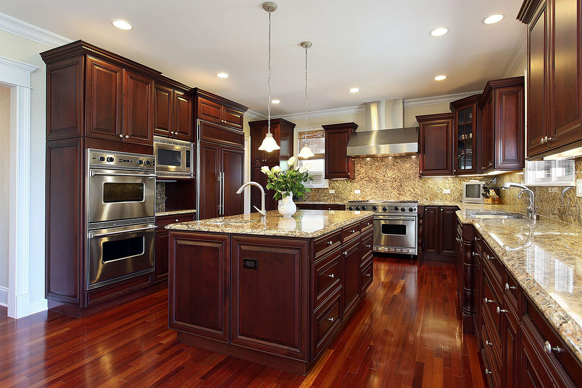 Design ideas - Cherry wood cabinetry
