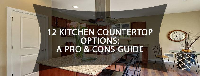 12 Kitchen Countertop Options